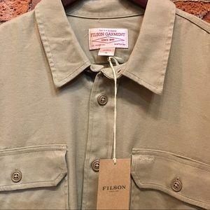 NWT• A Genuine FILSON GARMENT • XL button shirt